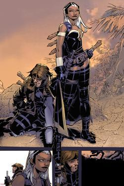 X-Men: Curse of The Mutants - Storm & Gambit No.1: Storm and Gambit by Chris Bachalo