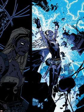 X-Men: Curse of The Mutants - Storm & Gambit No.1: Storm Flying by Chris Bachalo