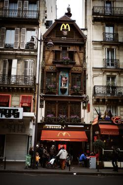 A Particular Mcdonald's Stands Out in the Streets of Paris, France by Chris Bickford