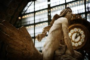 A Statue in the Musee D'Orsay in Paris, France by Chris Bickford