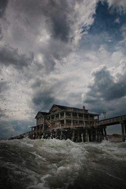 Cloudy Skies Along the Outer Banks of North Carolina by Chris Bickford