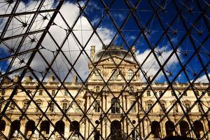 Patterns of the Louvre Museum During the Day in Paris, France by Chris Bickford