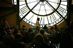 The Cafe Campana at Musee D'Orsay Serves Guests in Paris, France by Chris Bickford
