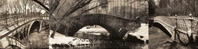 Central Park Bridges (tryptych) by Chris Bliss
