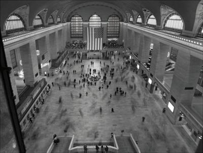 Grand Central Station Interior by Chris Bliss