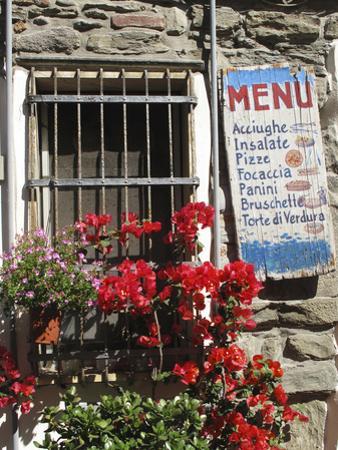 Italian Menu by Chris Bliss