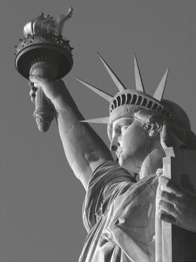 Liberty with Torch by Chris Bliss