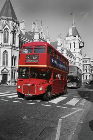 Red Bus London by Chris Bliss