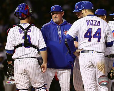 Chris Bosio Game 5 of the 2016 World Series