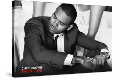 Chris Brown Music Poster