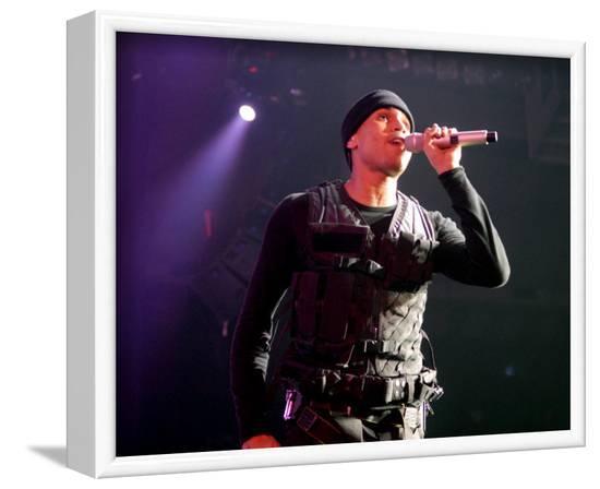 Chris Brown--Framed Photo