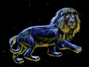Constellation of Leo, Artwork by Chris Butler