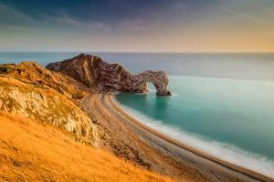 A View of Durdle Door in Dorset by Chris Button