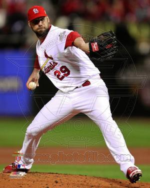 Chris Carpenter Game 7 of the 2011 MLB World Series Action (#35)