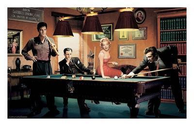 "Chris Consani pop art poster 24x36/"" Classic Interlude Marilyn Monroe James Dead"