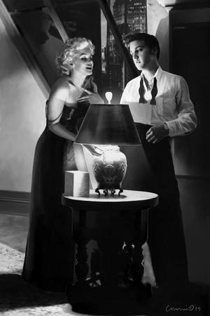 Marilyn and Elvis Penthouse