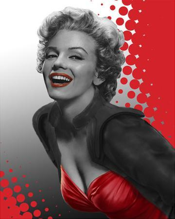 Marilyn Red by Chris Consani