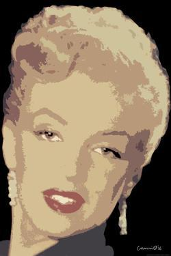 Posterized Marilyn by Chris Consani