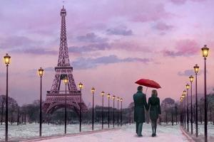 Red Umbrella by Chris Consani