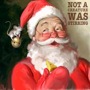 Santa 1 Stirring by Chris Consani