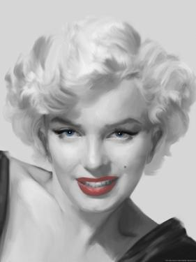The Look Red Lips by Chris Consani