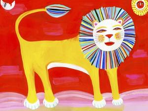 Colorful Lion by Chris Corr