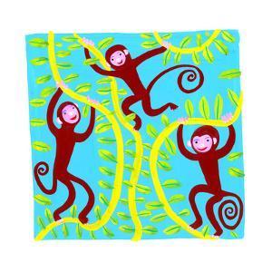 Monkeys in Tree by Chris Corr
