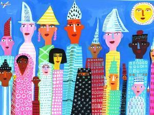 Portrait of Multicultural Group of People by Chris Corr