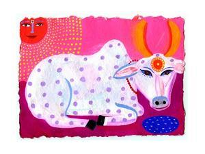 Portrait of Sacred Cow by Chris Corr
