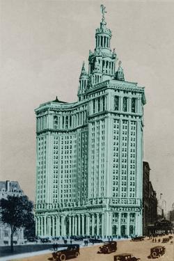 New York Postcard - Municipal by Chris Dunker