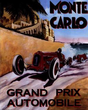 Monte Carlo Grand Prix by Chris Flanagan