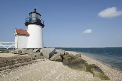 Usa, Massachusetts, Nantucket Island, View of Brant Point Lighthouse by Chris Hackett