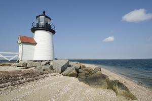 Usa, Massachusetts, Nantucket Island, View of Brant Point Lighthouse by Chris Hackett