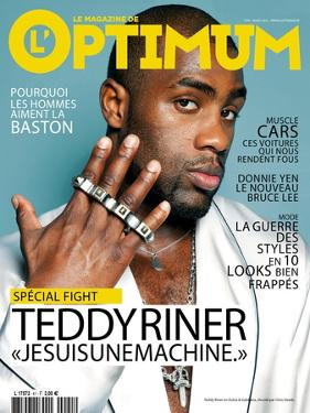 L'Optimum, March 2012 - Teddy Riner by Chris Heads