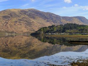 Loch Leven Reflections, Glencoe Village, Scottish Highlands, Scotland by Chris Hepburn