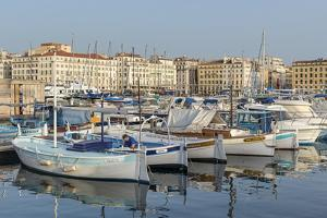 The Old Port of Marseille (Vieux Port) in Marseille, Bouches-Du-Rhone, Provence by Chris Hepburn