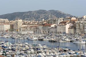 The Old Port of Marseille (Vieux Port) in Marseille, Mediterranean by Chris Hepburn