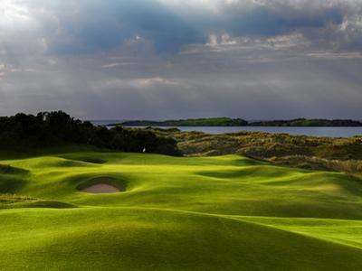 13th Hole Named Skerries at Royal Portrush Golf Club in Northern Ireland by Chris Hill