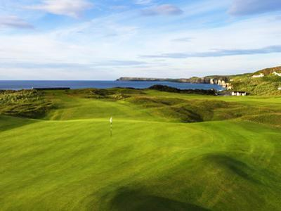 6th Hole Named Harry Colts at Royal Portrush Golf Club in Northern Ireland by Chris Hill