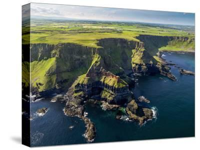Aerial View of the Giant's Causeway in Northern Ireland by Chris Hill