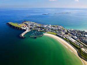 Aerial View Over Portrush, Northern Ireland by Chris Hill