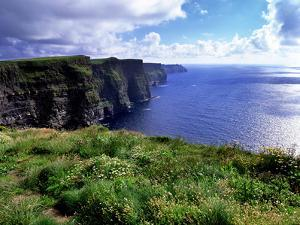 Cliffs of Moher in County Clare on the West Coast of Ireland by Chris Hill