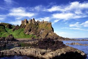 Dunluce Castle on the North Coast of Northern Ireland by Chris Hill