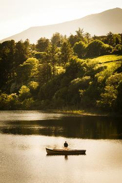 Fishing in Creeslough, Donegal by Chris Hill