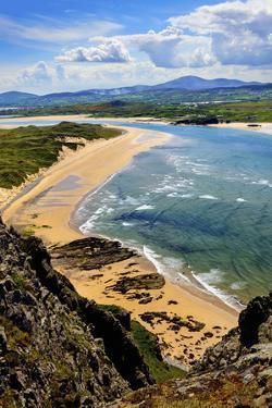 Five Fingers Strand at Malin in Donegal by Chris Hill