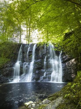 Glenariff Waterfall in County Antrim by Chris Hill