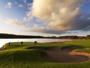 Golfing in Lough Erne, Fermanagh by Chris Hill