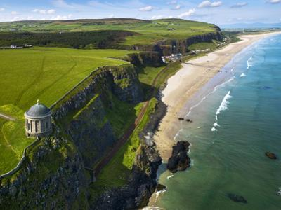 Mussenden Temple, a Folly on the North Irish Coast by Chris Hill