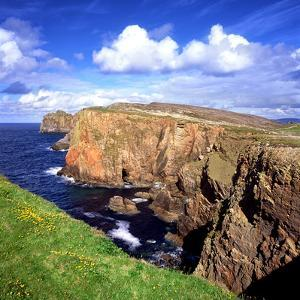 Rock Coastline of Tory Island Off Donegal, Ireland by Chris Hill