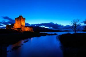 Ross Castle at Dusk in Killarney National Park, Kerry by Chris Hill